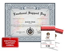 how to make your dog an emotional service dog