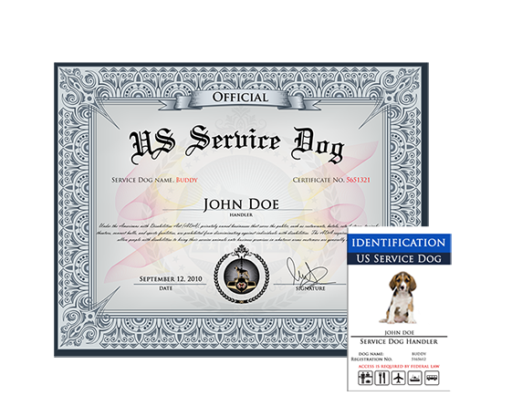 service dog basic kit » us dog registry