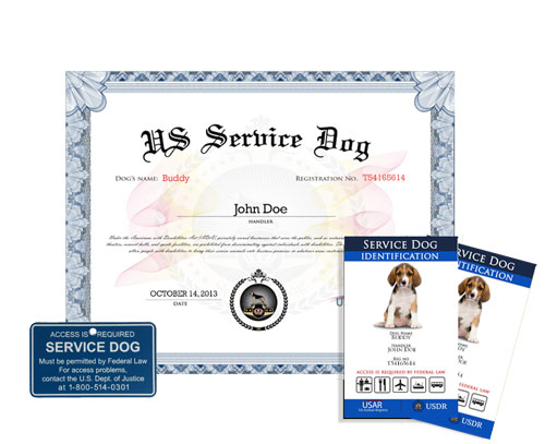 register your service dog online | us dog registry