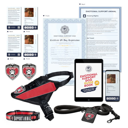 Register Emotional Support Dog Deluxe Kit