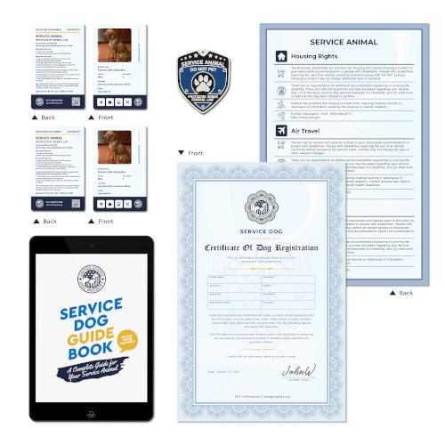 Service Dog Basic Plus Kit
