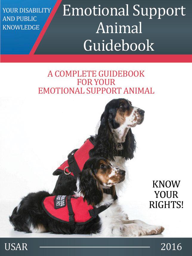 Id Card Description Service Dog Emotional Support Animal Guidebook ebook Us Dog Registry