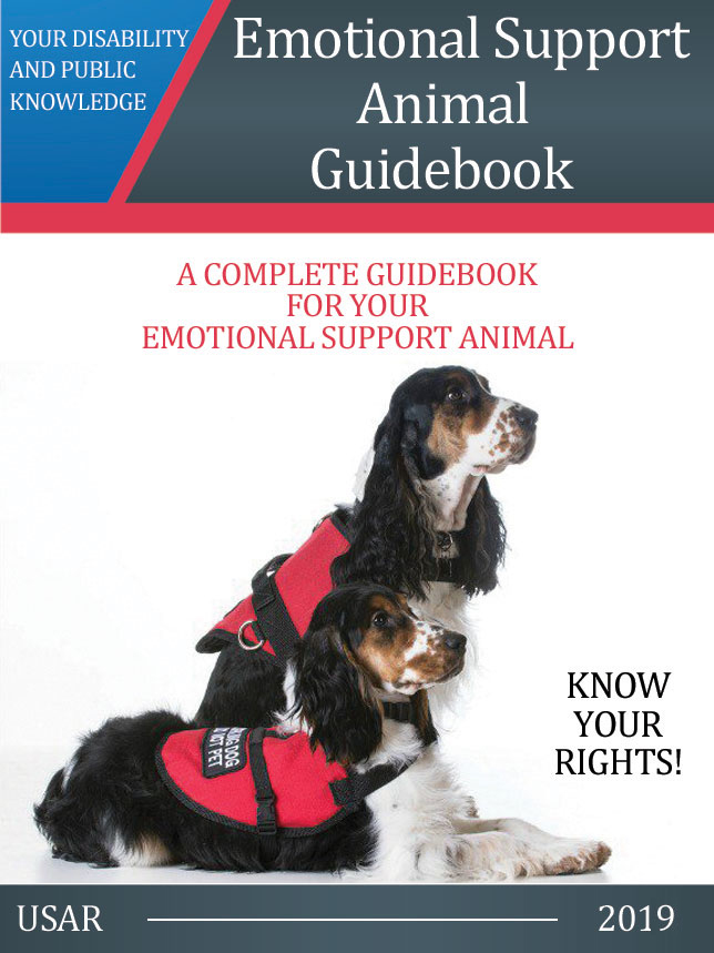 Emotional Support Animal Guidebook (E-book)
